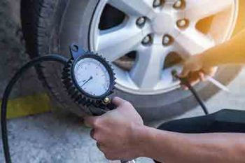 auto repair by andys auto supply and repair. cold temperature causes low tire pressure.